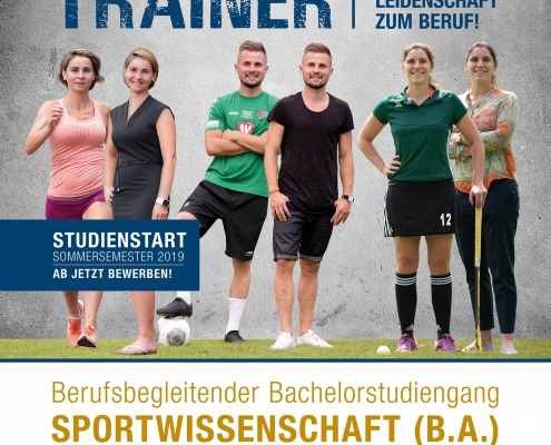 Berufsbegleitender Studiengang Sportwissenschaft