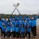 Das BFD-Team der Ruderjugend 2020/2021 beim Einführungsseminar in Ratzeburg