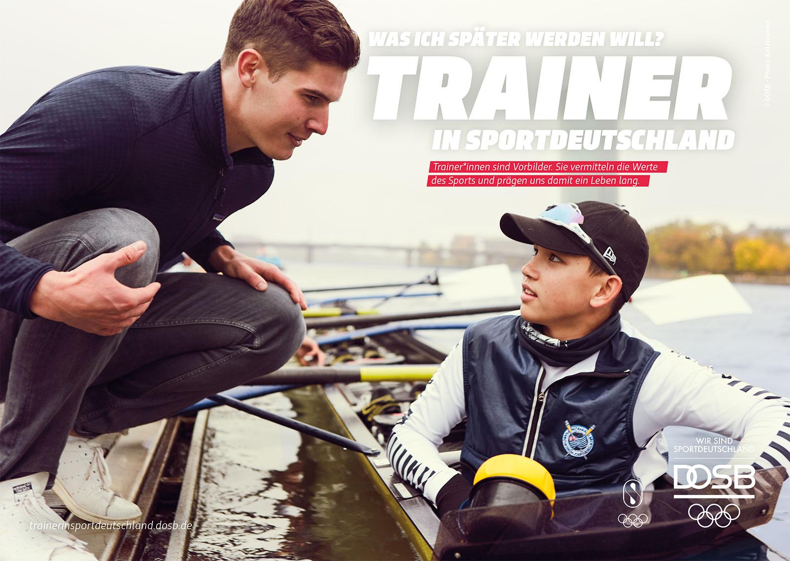 Trainer in Sportdeutschland, Rudermitiv